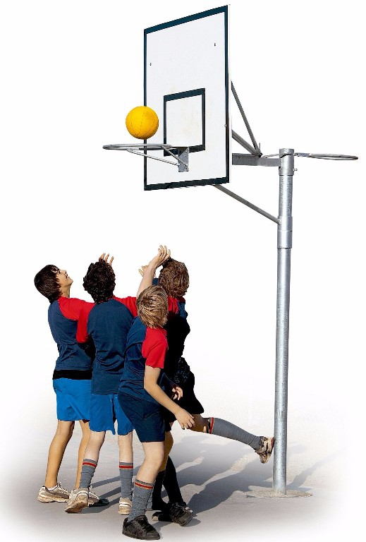 Basketball System manufactured here in Dunedin